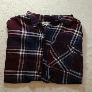 Garage Plaid Long Sleeve Shirt
